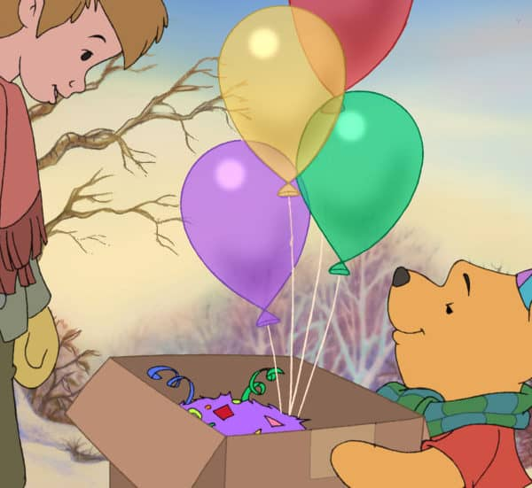Mickey's Christmas Carol and Winnie the Pooh A Very Merry Pooh Year on Blu-Ray