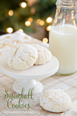 5snowball cookies