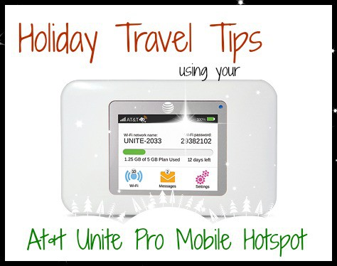 Holiday Travel with the AT&T Unite Mobile Hotspot