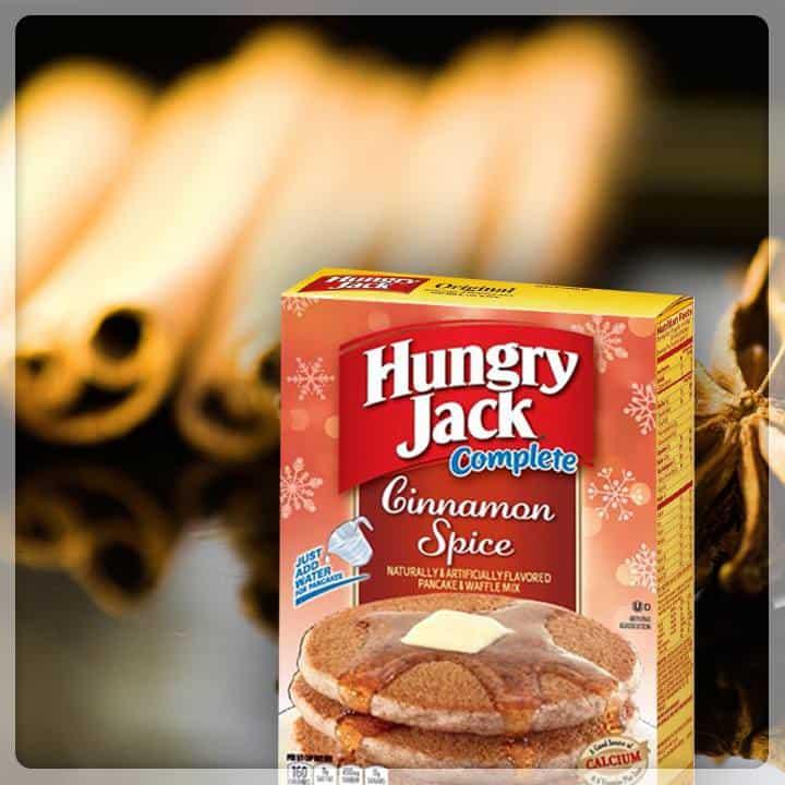 Hungry Jack Cinnamon Spice