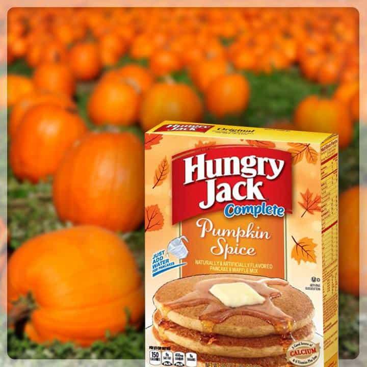 Hungry Jack Pumpkin Spice
