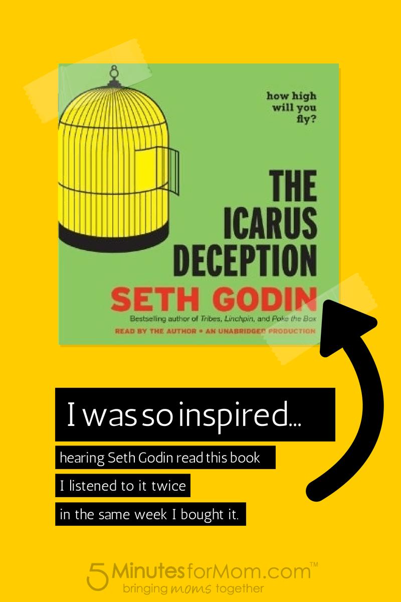 Icarus Deception Seth Godin