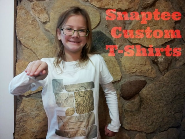 Snaptee custom t-shirt review