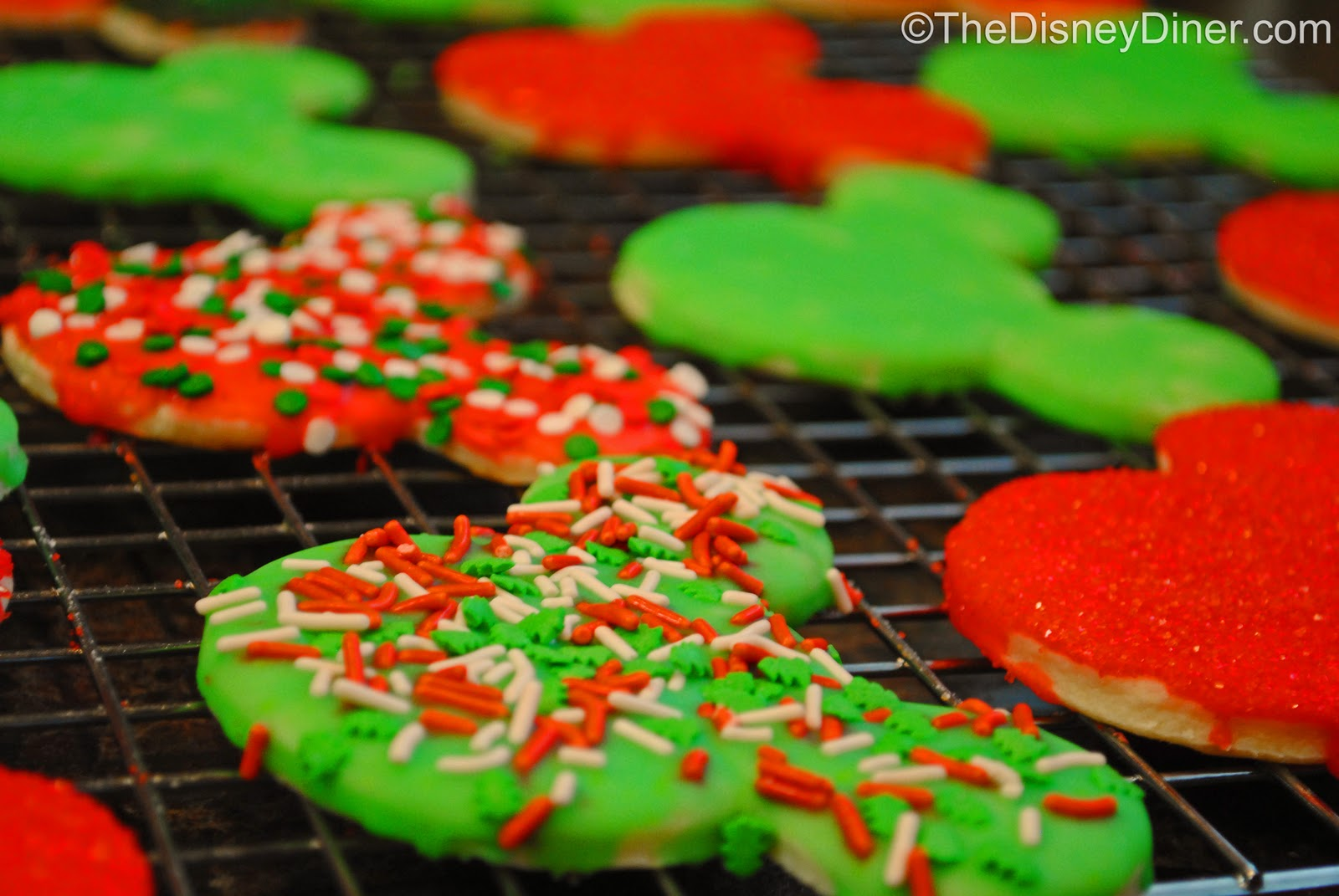 The Disney Diner Sugar Cookies