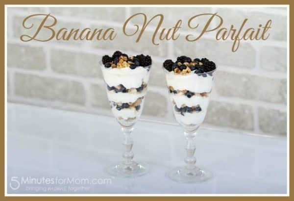 Banana Nut Parfait