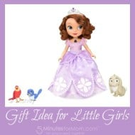 Gift Idea for Girls – Sofia the First Talking Doll with Animal Friends #Giveaway