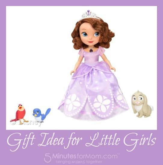 Sofia the First Gift Idea for Little Girls
