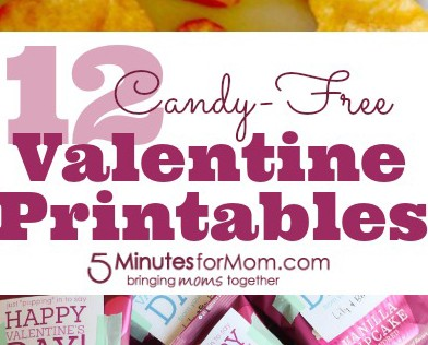 12 Candy Free Valentine's Day Printables