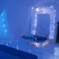 Frozen Themed Rooms Come to the Ice Hotel in Quebec City