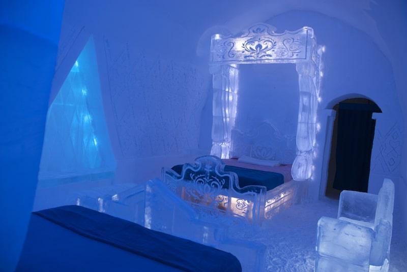 Frozen Room in Ice Hotel 2