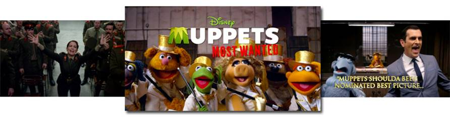 Muppets Most Wanted Banner