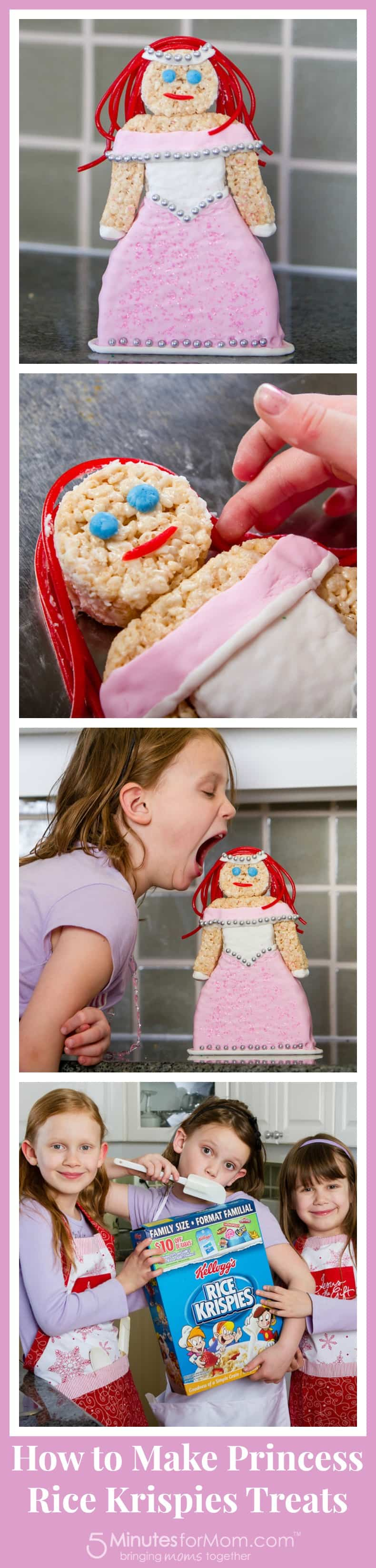 Princess Rice Krispies Treats