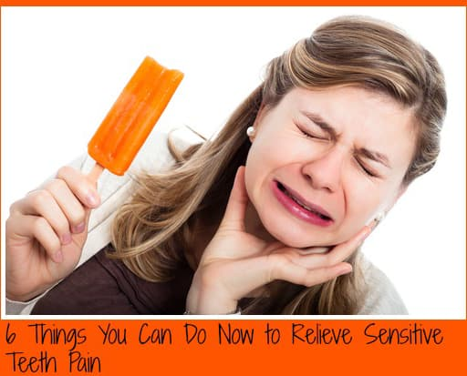 6 Tips on How to Deal with Sensitive Teeth plus *Giveaway*