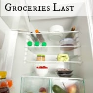 7 Tips to Make Your Groceries Last Longer
