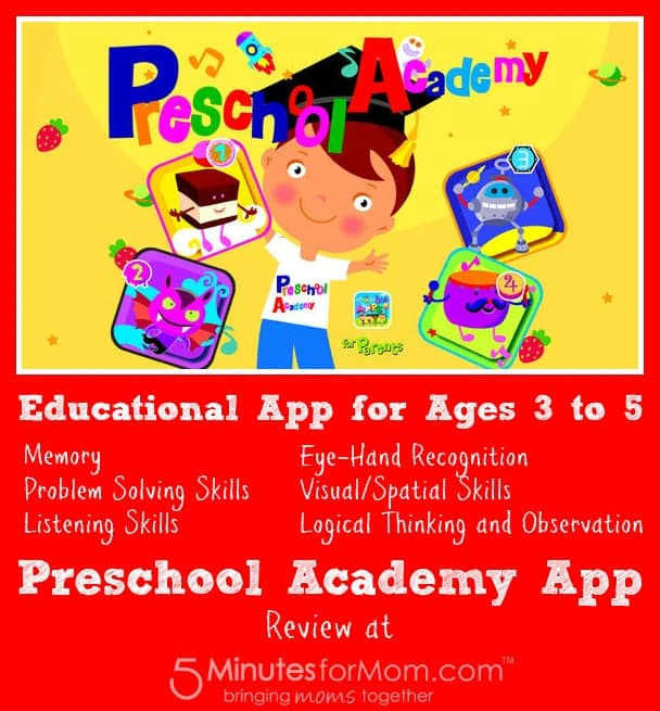 preschool academy app review