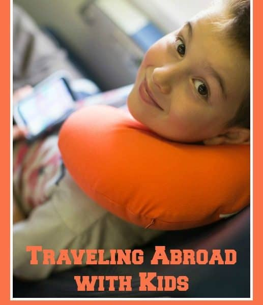 Ask the Domestic Life Stylist: Traveling Abroad with Kids