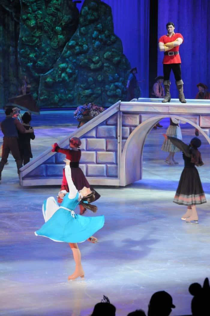 Disney On Ice Belle and Gaston