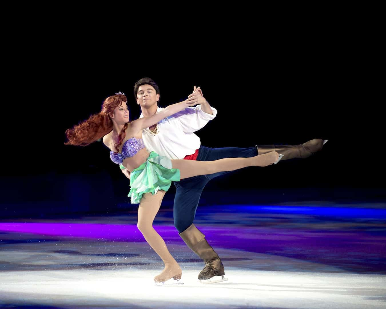 Disney On Ice Rockin Ever After Ariel and Eric
