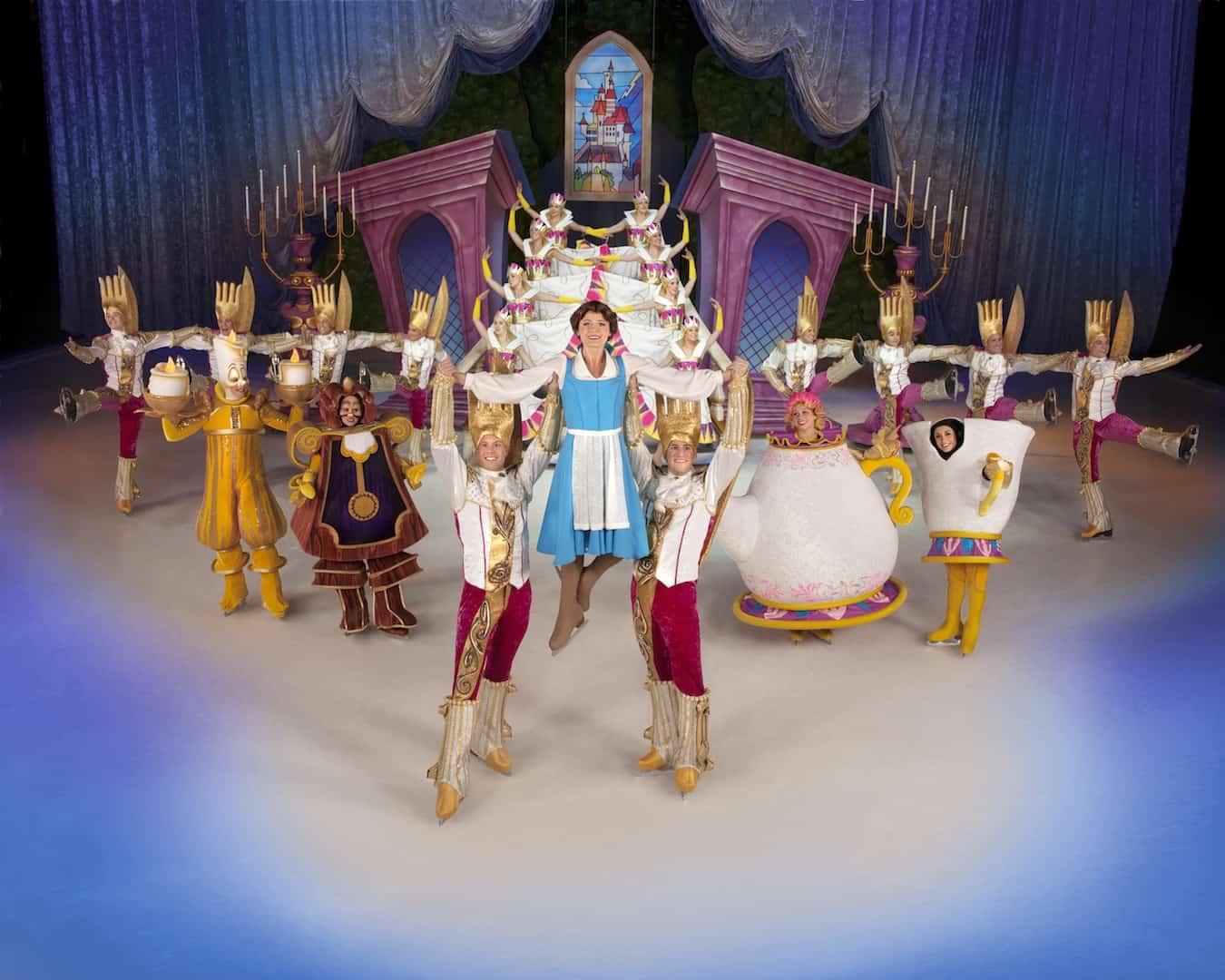 Disney On Ice Rockin Ever After Belle