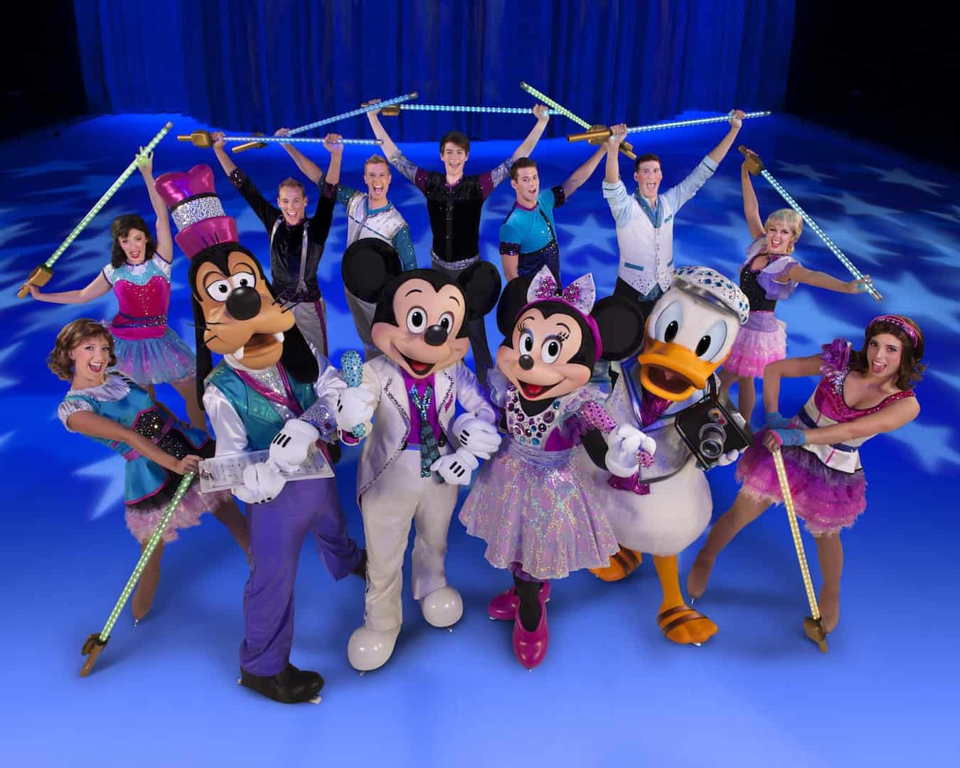 Disney On Ice Rockin Ever After Mickey Mouse