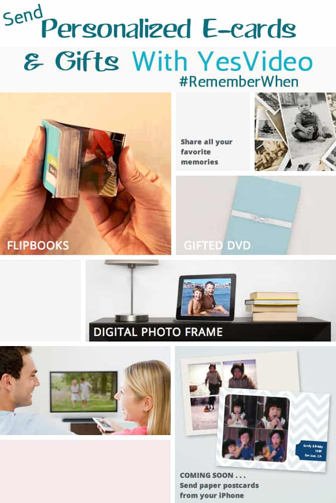 Personalized E-Cards & Gifts with YesVideo