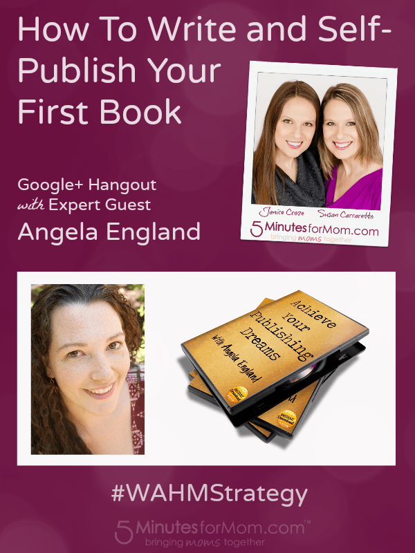 How to Publish your First Book Hangout