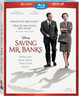 Saving Mr Banks Bluray
