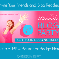 Ultimate Blog Party 2014 – Banners and Badges