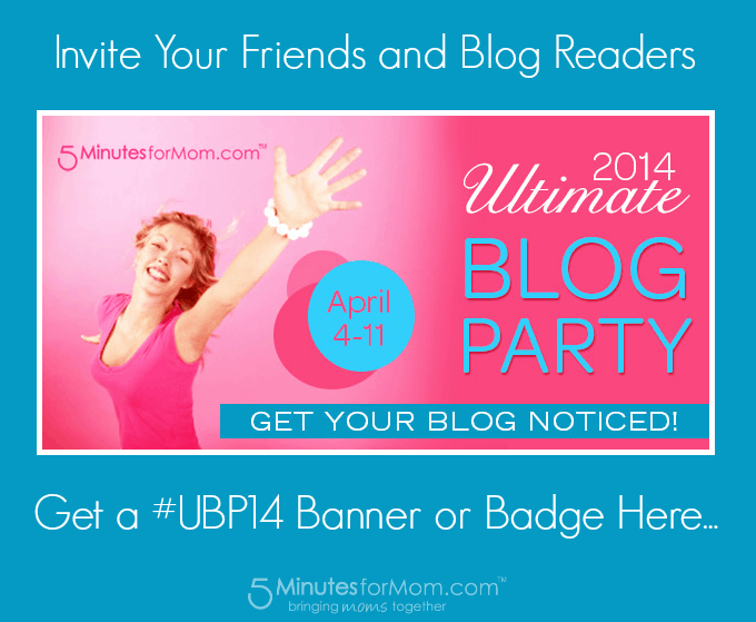 Ultimate Blog Party 2014 Banners and Badges