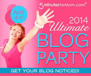 The Ultimate Blog Party 2014 is Coming — April 4 – 11 #UBP14