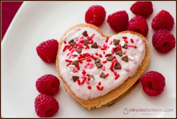 Pink Pancakes with Beet Puree and Greek Yogurt Topping Recipe