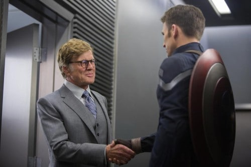 Captain America  - Robert Redford - #CaptainAmerica