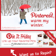 Pin It Friday – Share Your Pins #Pinterest #Linky