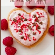Pink Pancakes with Beet Puree and Greek Yogurt Topping #Recipe