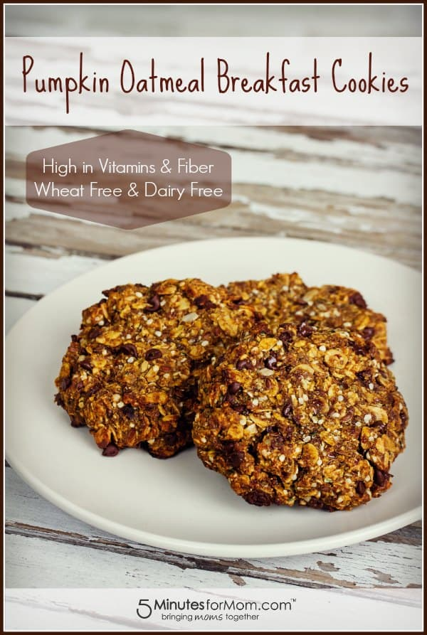 healthy-pumpkin-oatmeal-breakfast-cookie