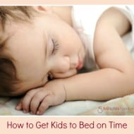 Ask the Domestic Life Stylist: How to Get Your Kids to Bed On Time