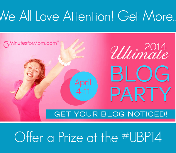 Ultimate Blog Party 2014 – Prize Submission