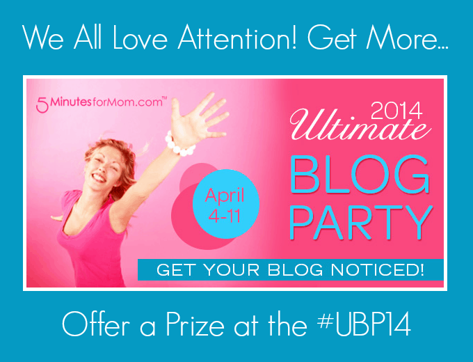 Ultimate Blog Party 2014 Prize Submission Form
