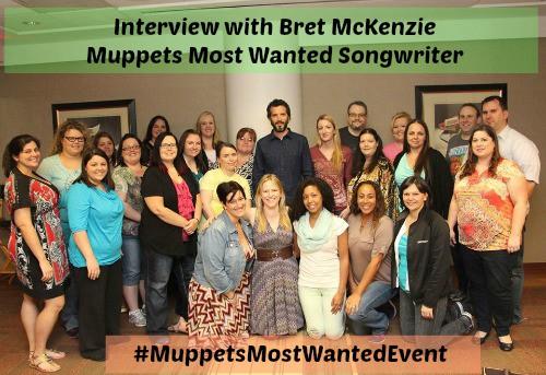 Bret McKenzie Group Photo - #MuppetsMostWantedEvent
