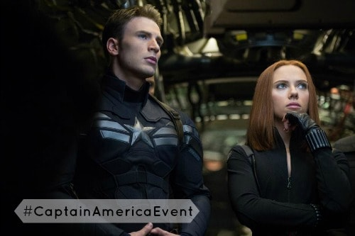 #CaptainAmericaEvent | 5 Minutes for Mom