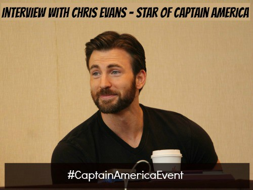 Chris Evans Interview - #CaptainAmericaEvent