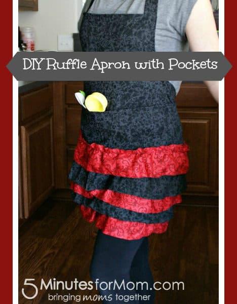 DIY Ruffle Apron Tutorial