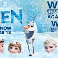 We're Thrilled that Frozen Won Two Academy Awards #DisneyFrozen