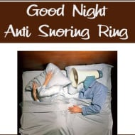 Good Night Anti Snoring Ring Review/Giveaway
