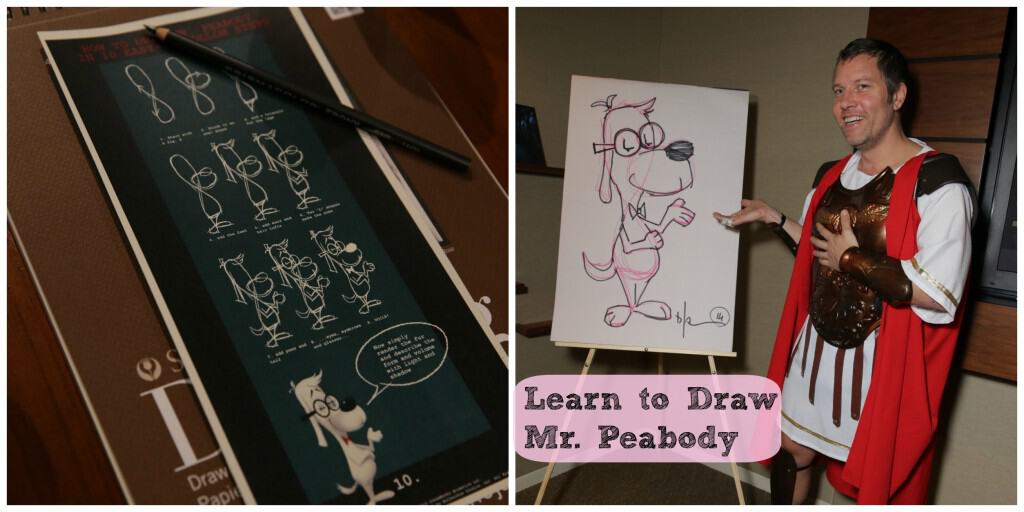 Learn to Draw Mr. Peabody