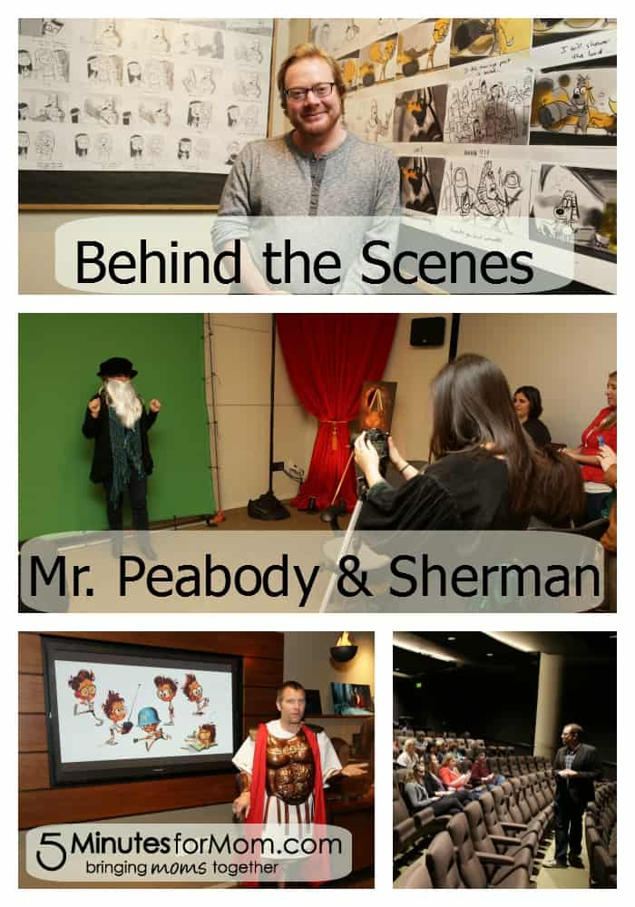 Making Mr. Peabody