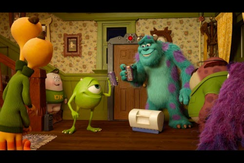 Monsters University Short Party Central