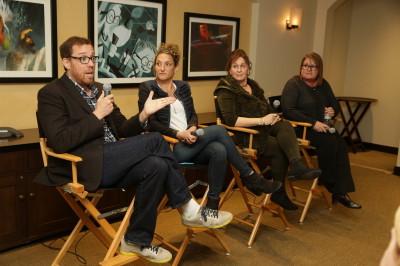 Rob Minkoff, Alex Schwartz, Tiffany Ward, and Denise Cascino