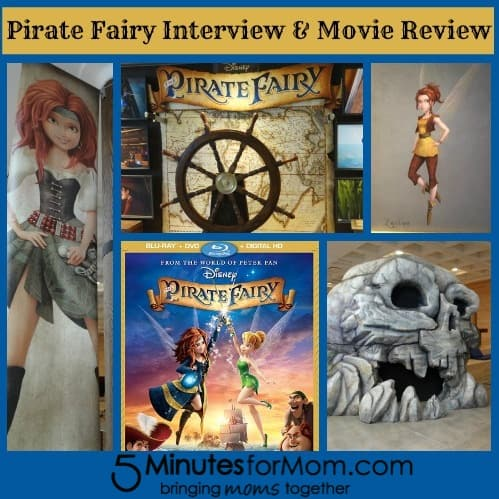 Pirate Fairy Interview and Movie Review by 5 Minutes For Mom - #PirateFairy