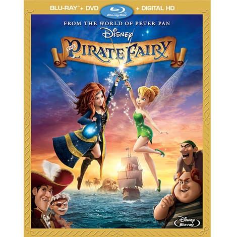 Pirate Fairy DVD - #PirateFairy
